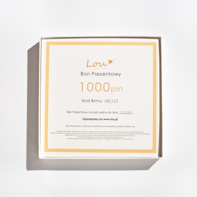 BON PREZENTOWY 1000PLN